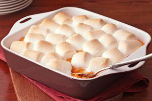 Sweet Potatoes w/ Marshmallows (via: Kraft Recipes)